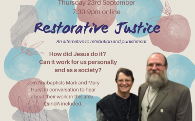In Conversation with Mark and Mary Hurst, Anabaptist Peace Practitioners